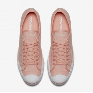 NEW Converse All Star Jack Purcell Coral Sneakers